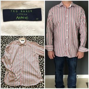 Ted Baker archive dress shirt - neck size 17